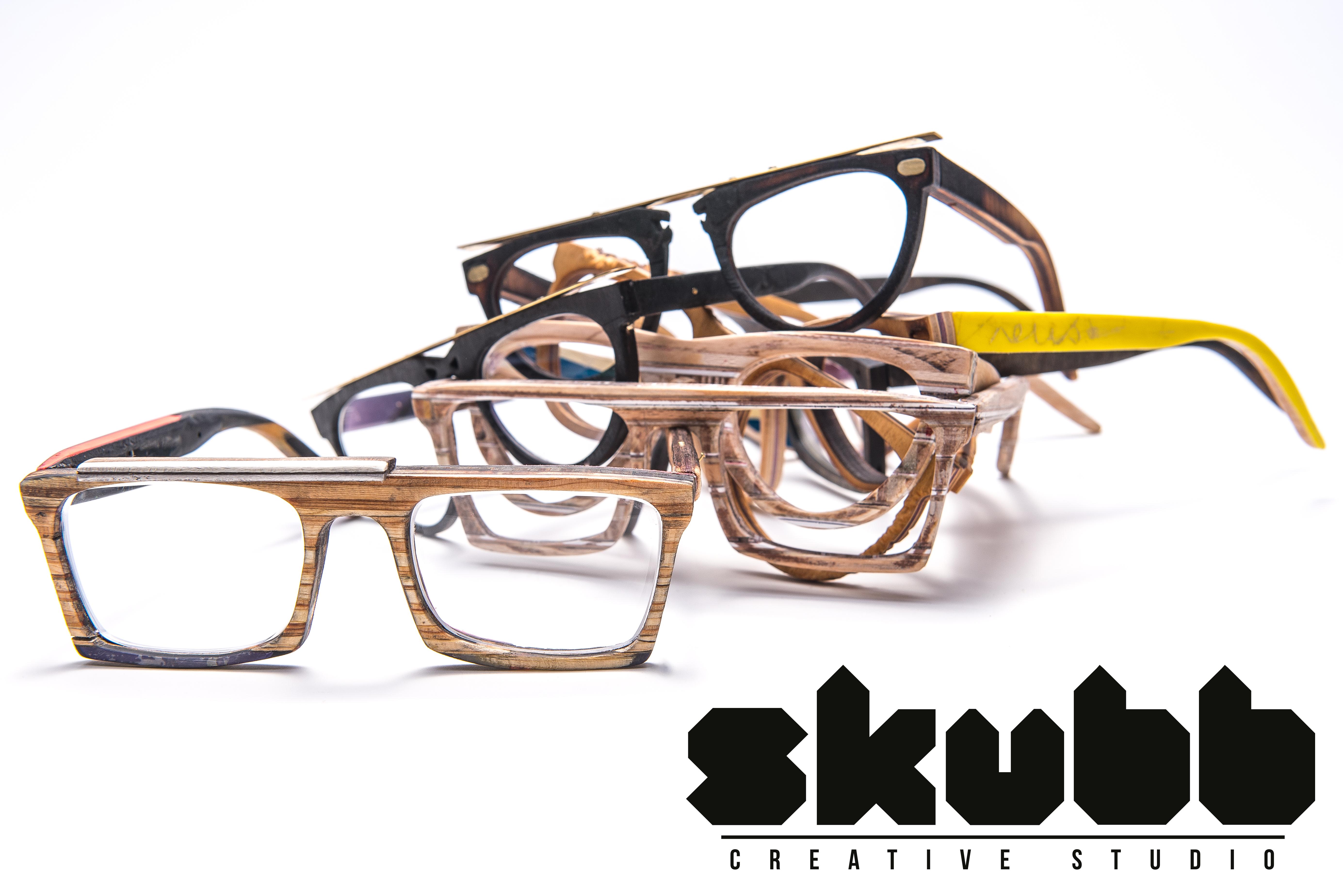 Brýle ze starých lyží